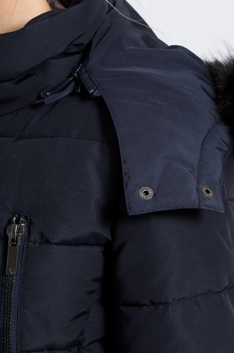 Płaszcz Inverness granatowy