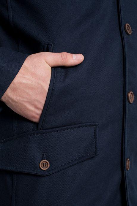 Płaszcz Dark Side granatowy