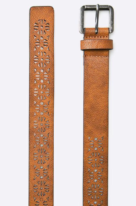 Pasek Inverness brązowy