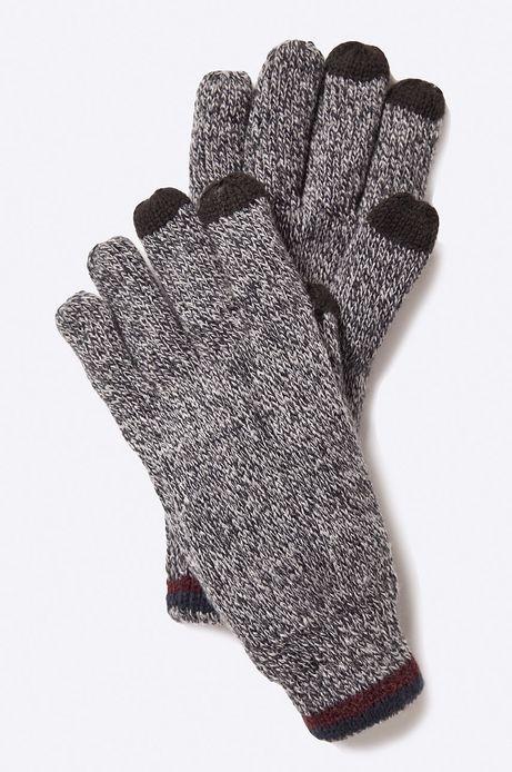 Man's Rękawiczki Inverness szare