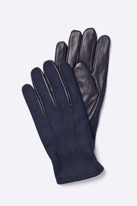 Man's Rękawiczki Belleville granatowe
