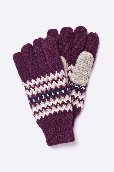 Rękawiczki  brązowe