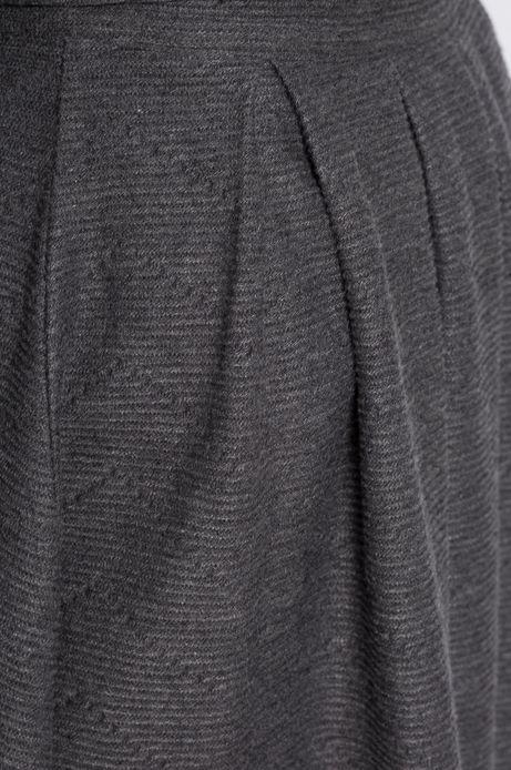 Spódnica Jaquard szara