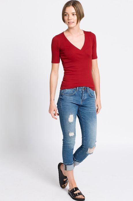 Woman's Jeansy  niebieskie