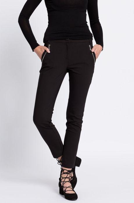 Spodnie City czarne