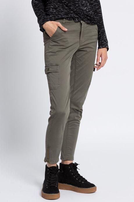 Woman's Spodnie Inverness zielone