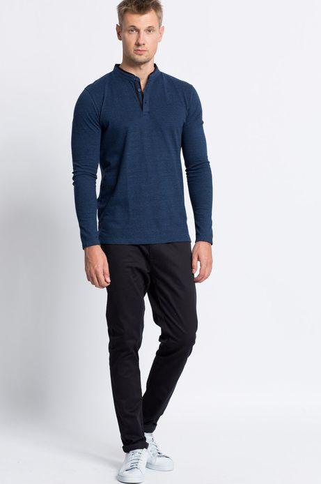 Man's Spodnie Smart Winter czarne