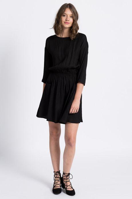 Sukienka Jaquard czarna
