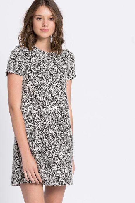 Sukienka Jaquard szara