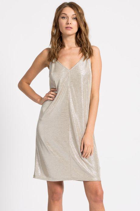 Sukienka Belleville złota