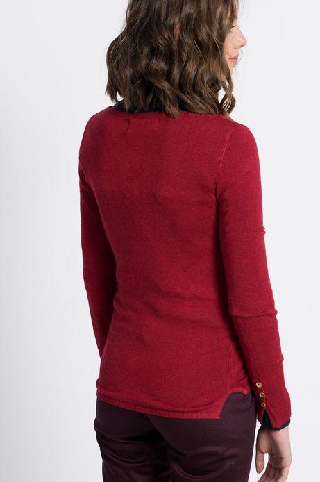 Sweter Inverness czerwony