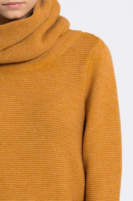 Sweter Inverness żółty