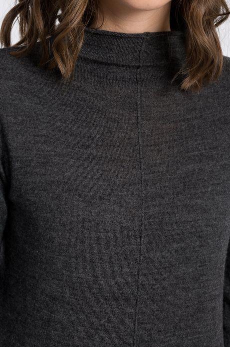 Sweter Belleville szary