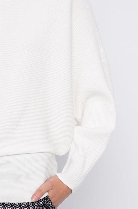 Sweter City biały