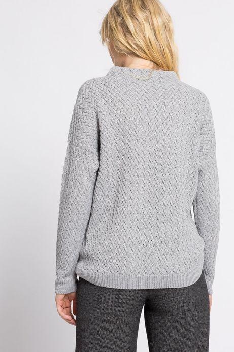 Sweter Work In Progress szary