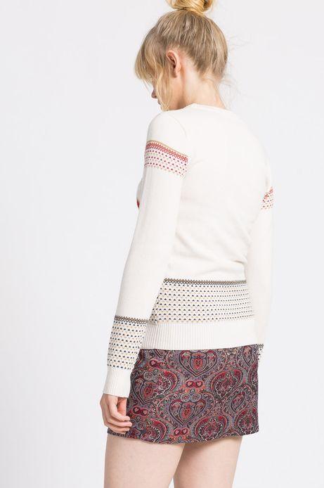 Sweter Xmas kremowy