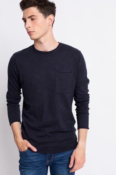 Sweter  granatowy