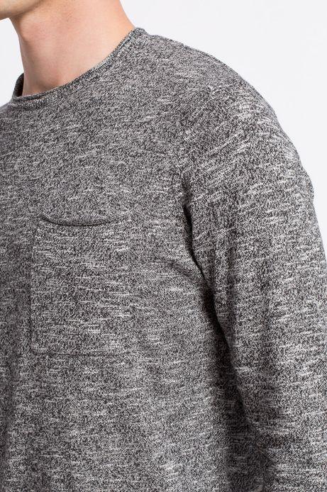 Sweter  szary