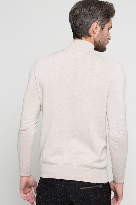 Sweter Smart Winter beżowy