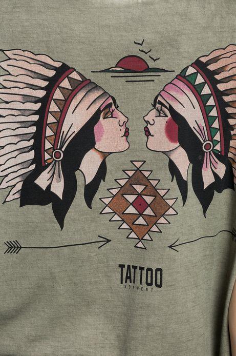 Top by Patryk Hilton, Tattoo Konwent zielony
