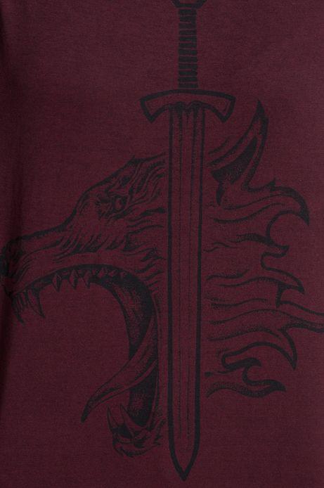 Top Viking Tales czerwony