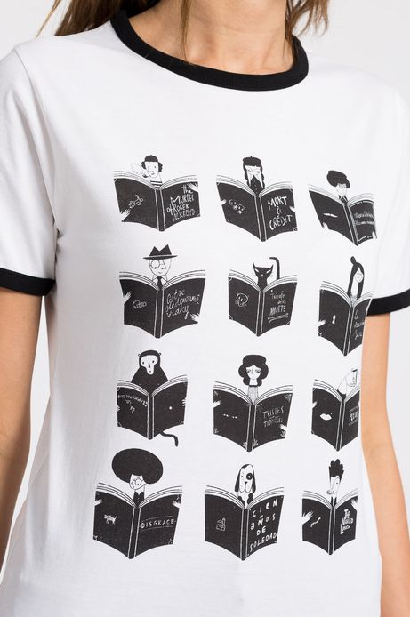 Top Bibliophilia biały