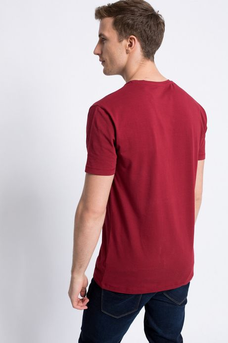 T-shirt Dark Side różowy
