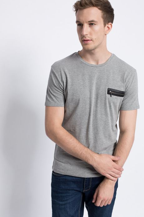 T-shirt Dark Side szary