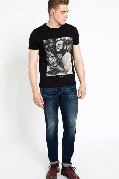T-shirt  czarny