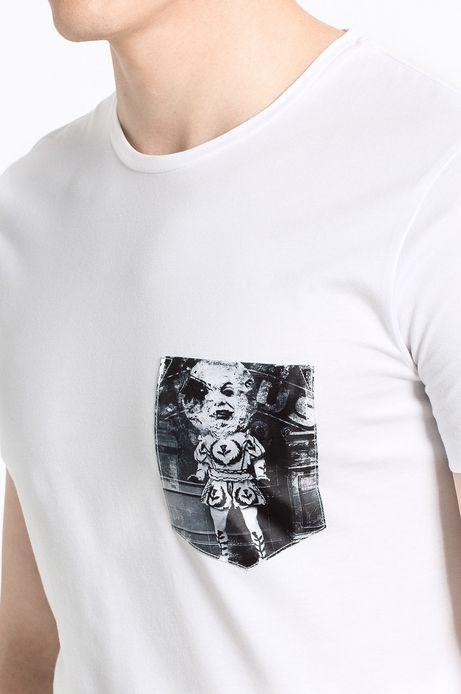 T-shirt Belleville biały