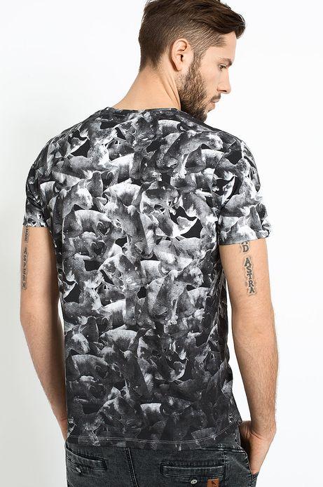 T-shirt Belleville czarny
