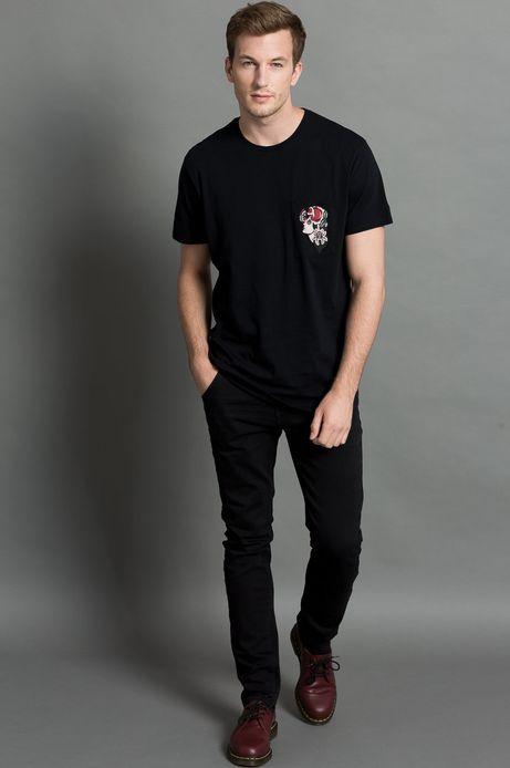 T-shirt by Patryk Hilton, Tattoo Konwent czarny