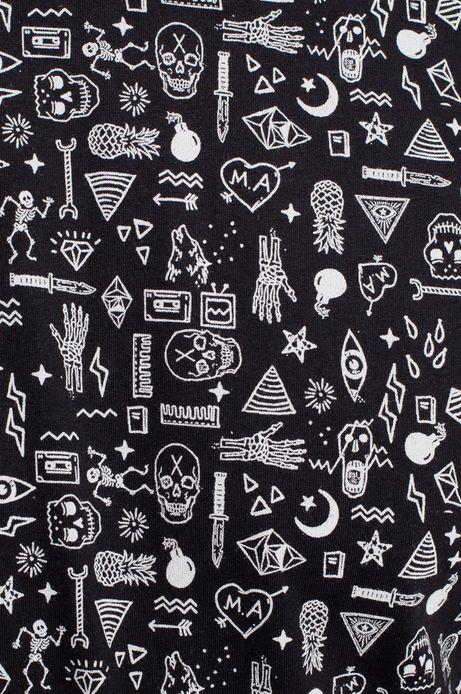 T-shirt Dark Side czarny