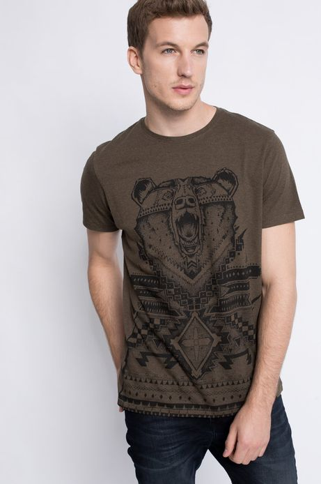 T-shirt Wildlife zielony