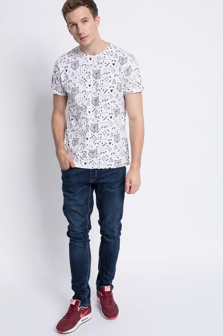 T-shirt Wildlife biały