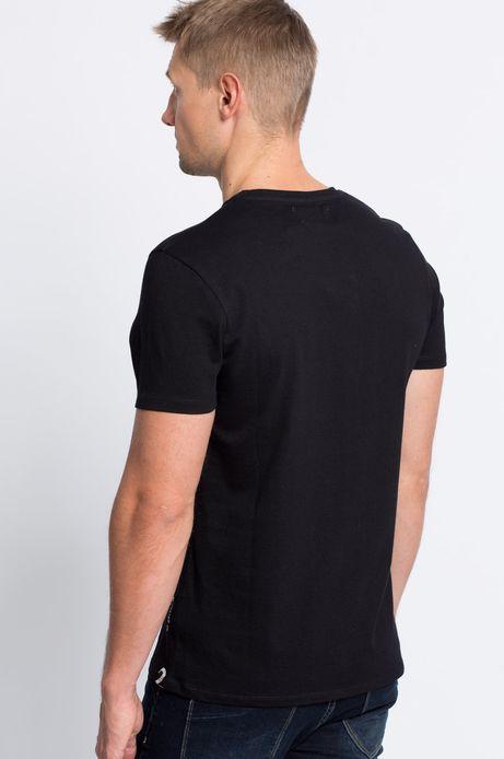 T-shirt Smart Winter czarny