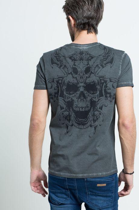 T-shirt Viking Tales szary