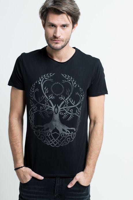T-shirt Viking Tales czarny