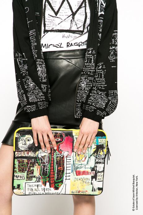 Woman's Pokrowiec na laptopa Basquiat