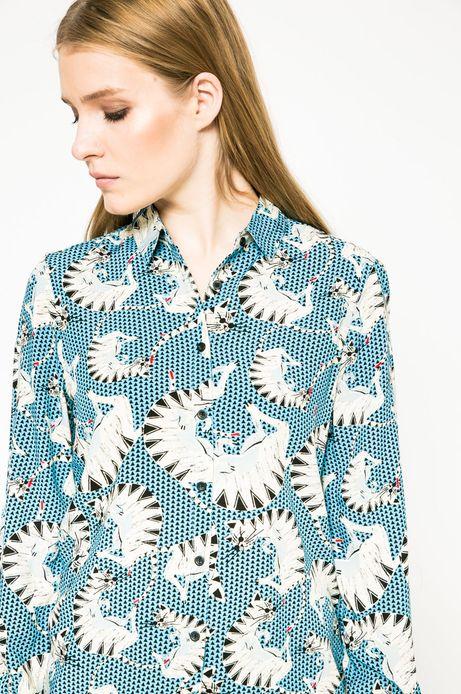 Koszula Future Past niebieska