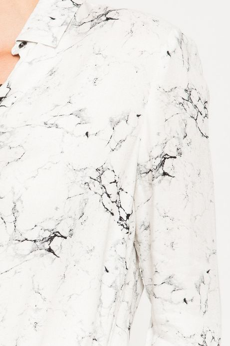 Woman's Koszula Grey Earth