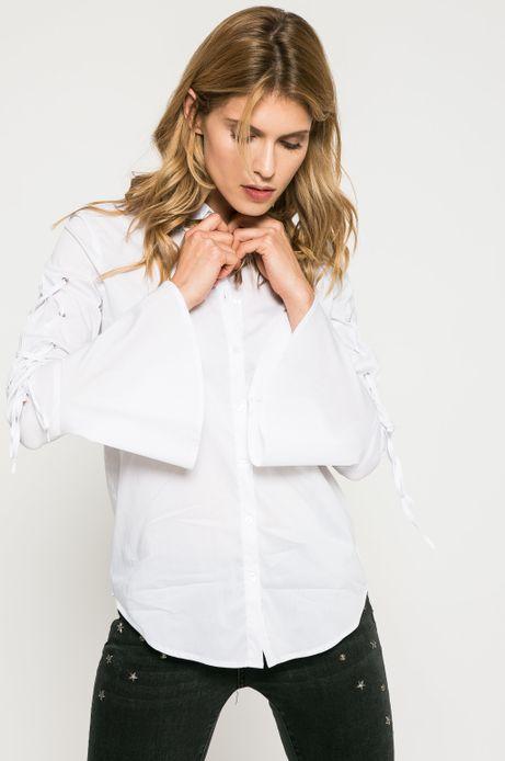 Koszula damska Dark Bloom biała