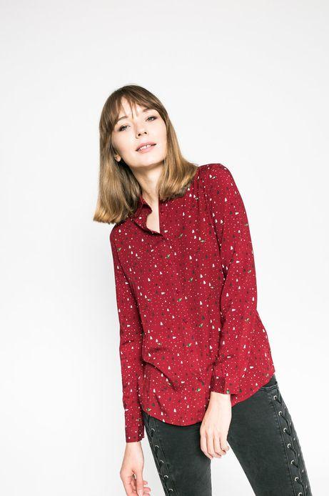 Koszulka damska Xmas czerwona