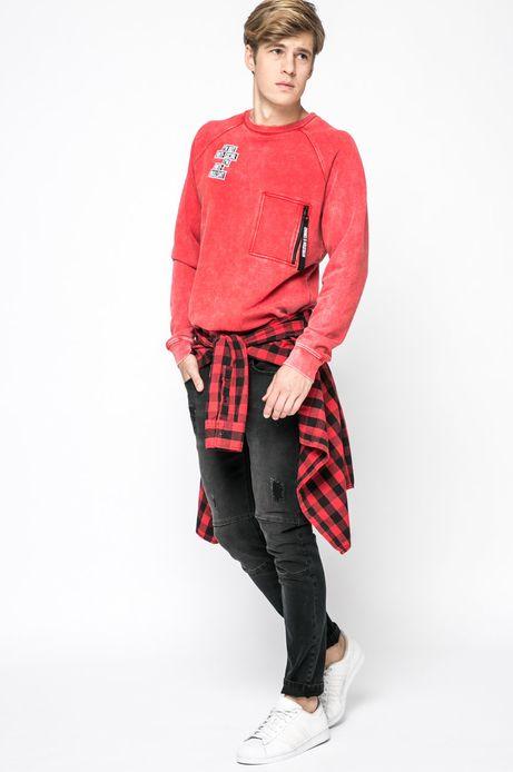 Bluza Let's Rebel czerwona