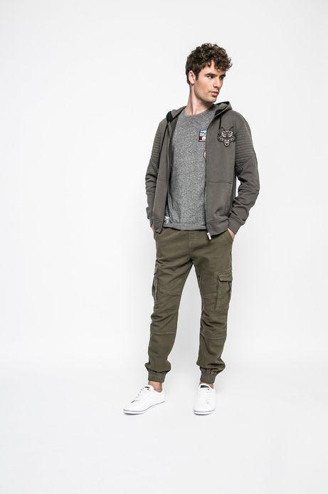 Man's Bluza Academic Scout zielona