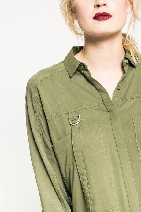 Koszula damska Rebel Forest zielona