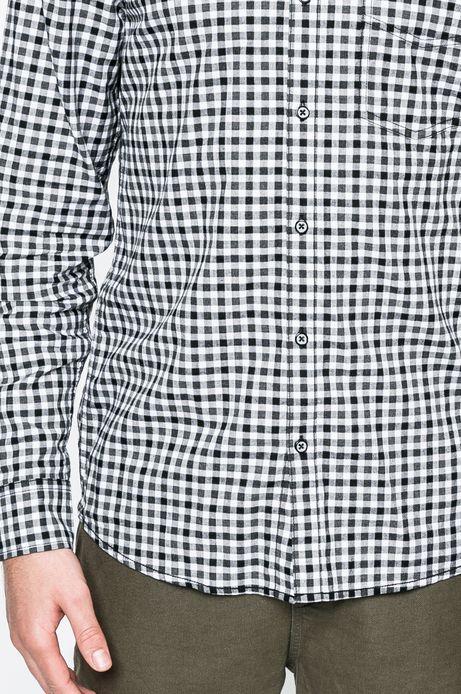 Man's Koszula Academic Scout szara
