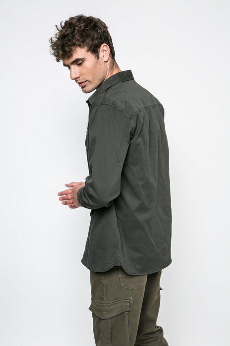 Man's Koszula Academic Scout zielona