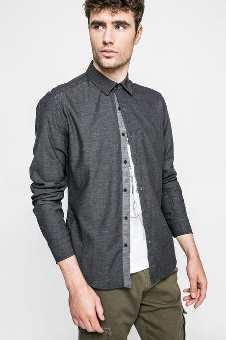 Koszula Graphic Monochrome szara