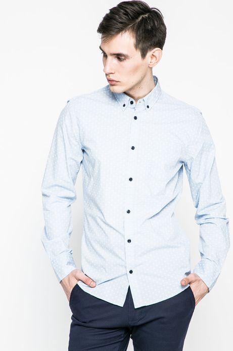 Koszula męska Nocturnal niebieska